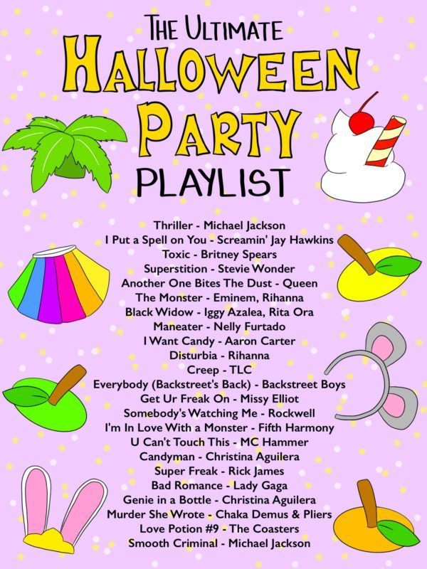 Halloween Party Playlist 2020 The Ultimate Halloween Party Playlist   Studio DIY in 2020