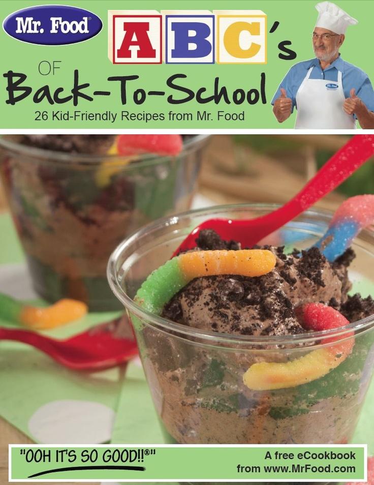 ABC's of Back-to-School: 26 Kid-Friendly Recipes free eCookbook #Recipe
