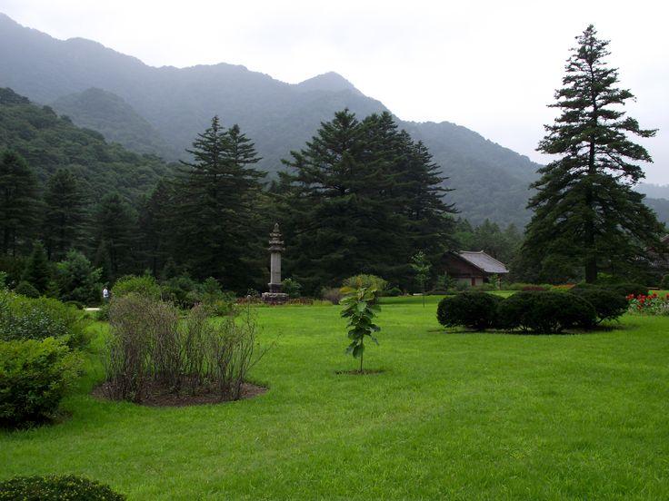 Северная Корея, гора Мехянсан