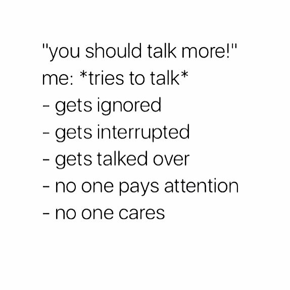 """you should talk more!"" shy/introverted people problems<<oh my goodness this is probably the most realatable post i've ever seen -_-"