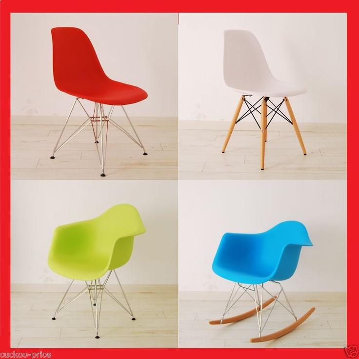 Charles Eames Eiffel Retro Dining Chairs