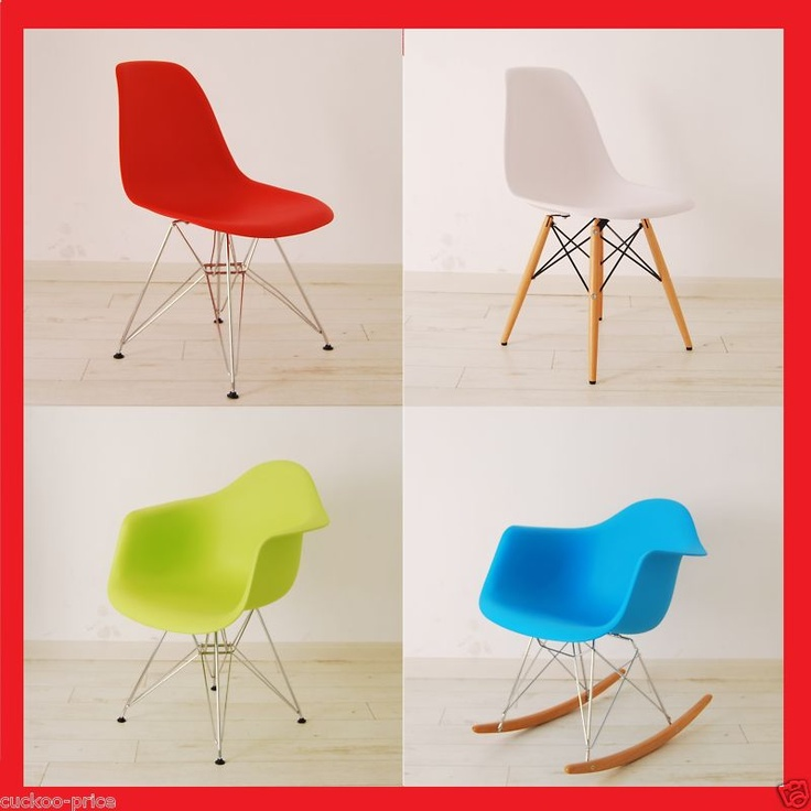 Charles Eames Eiffel Retro Dining Chairs