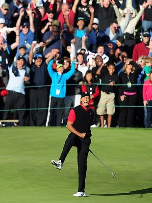 Tiger's first win since 2009