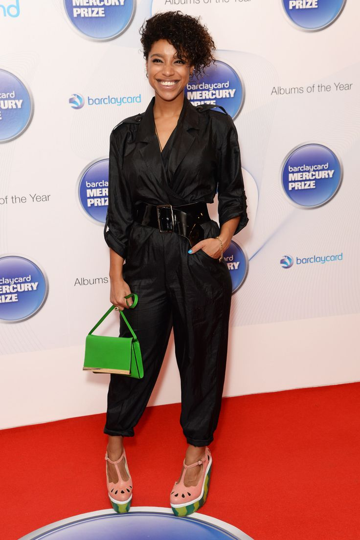 At the Barclaycard Mercury Prize short list announcement in 2013, Lianne dressed up black utility jumpsuit ...