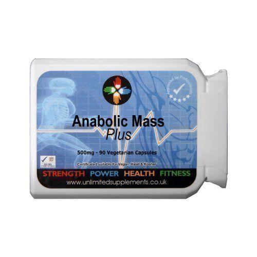 Anabolisant Mass PLUS 500mg – 90 Gélules – Favorise la croissance et le développement intense des muscles Le meilleur des ventes par…