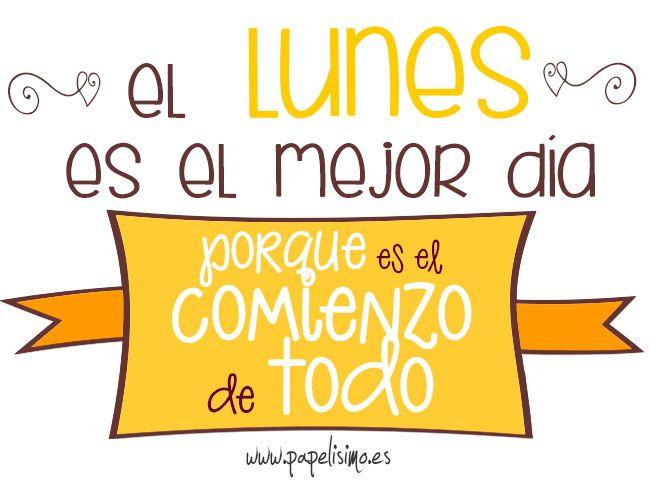 Puedes leerme aquí →→  http://papelisimo.es  Feliz Lunes. Carteles redes sociales Fin de semana #weekend #Facebook, #Twitter #Google+