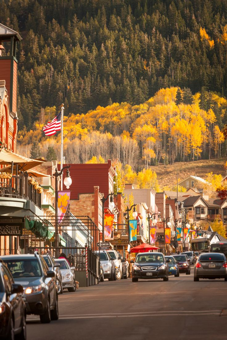 While you may have been to Park City, Utah in winter, its mountains covered in fall foliage makes it worth visiting before ski season is in swing.   For more information, visit Visitparkcity.com.   - CountryLiving.com
