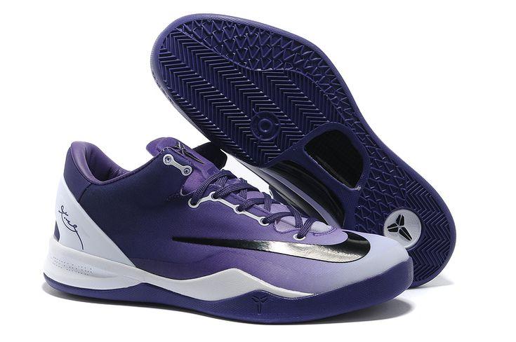 Wholesale Cheap 615315 Club Purple White Black Kobe 8 System MC Mambacurial  FB For Sale