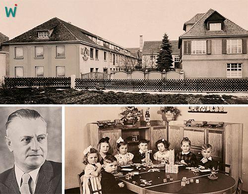 """Hier fing alles an. Das erste Werksgebäude - noch heute ein Teil der Firmenfamilie.  26. April 1938 Anton Engel und Eugen #Habermaaß (links unten im Bild) gründen die """"Firma Anton Engel, Fabrik für feinpolierte Holzwaren in Rodach bei Coburg"""". Nur 3 Tage später gründen die beiden Unternehmer mit Karl Wehrfritz noch eine Firma: Wehrfritz & Co. Noch in den vierziger Jahren wird der Rodacher #Kindergarten von #Wehrfritz eingerichtet."""