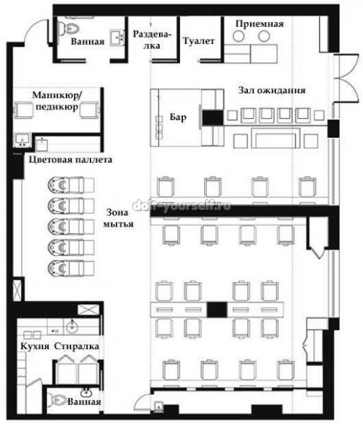 план спа салона - Поиск в Google