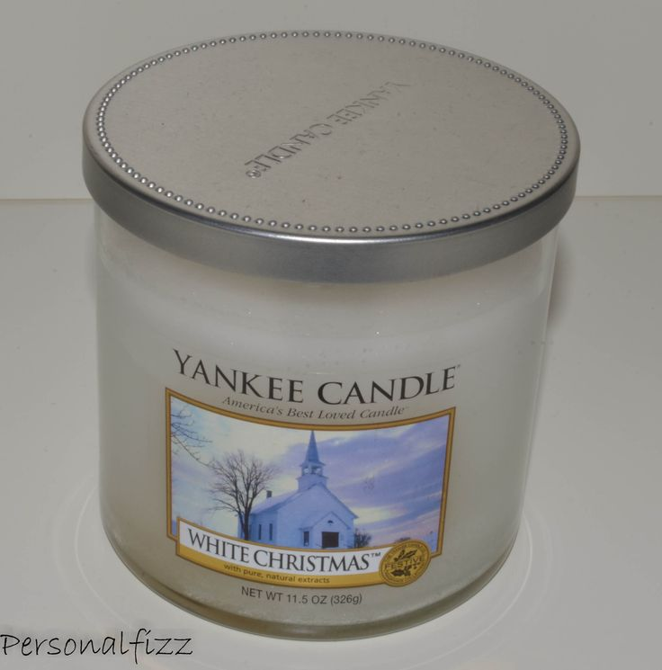 Yankee Candle Tumbler medium white christmas