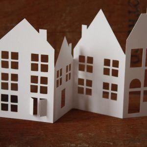 tutoriel et imprimables maisons de papier