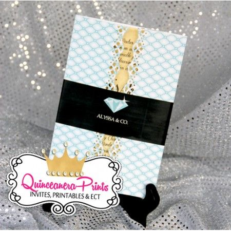 12 best handmade quinceanera invitations images on pinterest our handmade quinceanera invitations are personalized with your information princess design and colors can be changed solutioingenieria Images