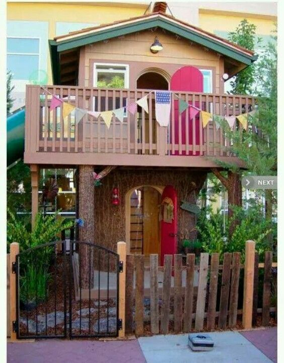 the most amazing playhouses