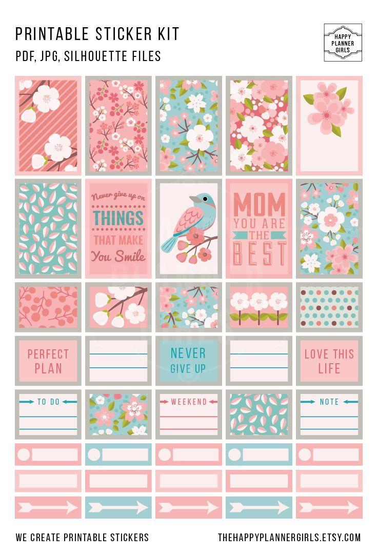 Lovely sticker kit!