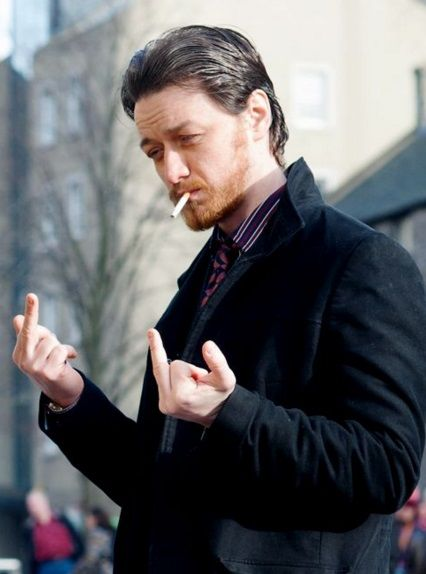 James McAvoy em Filth, 2013