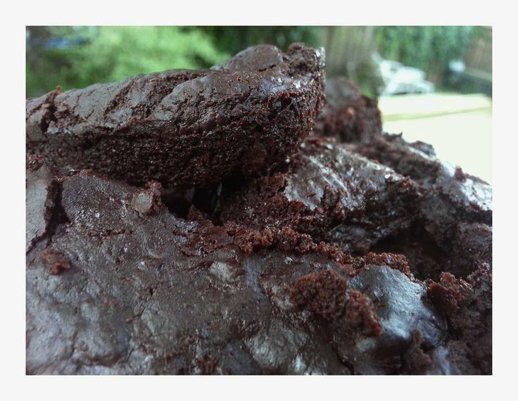 Black Bean Brownies: gluten-free, vegan and (optional) nut-free