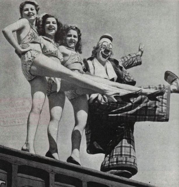 Ringling-Barnum Circus 1941 #4/ Lou Jacobs