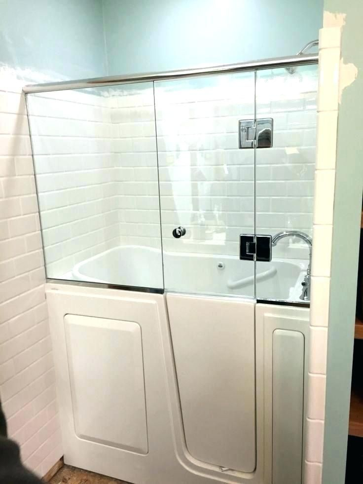 Small Walk In Tub Dimensions Bathtub Sizes Standard Shower Size