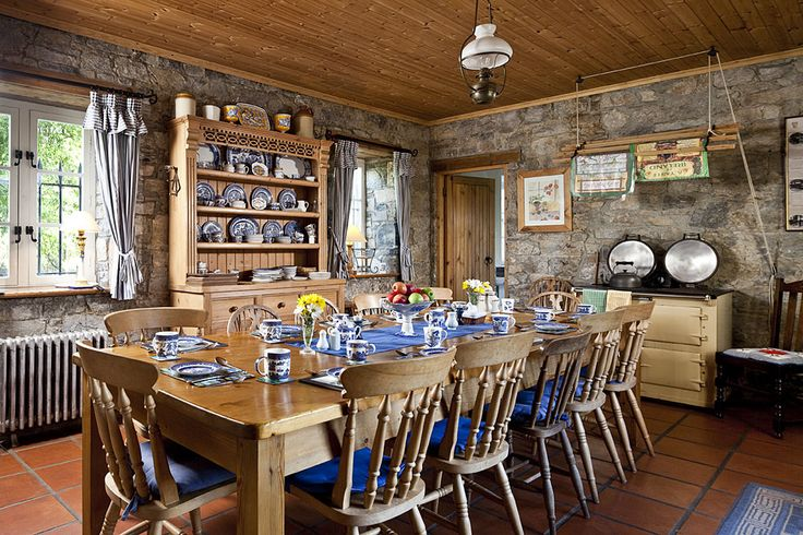 Irish Country Kitchen Homes Traditional Cottages And Castles In Ireland