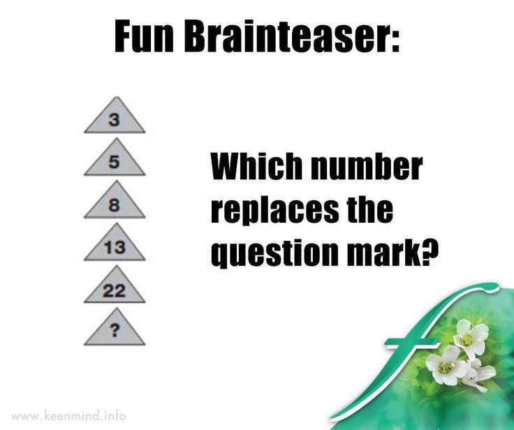 #ItsTheWeekendBaby, and time for our #brainteaser. do you know which number replaces the question mark? #SaturdayFun #Flordis #KeenMind