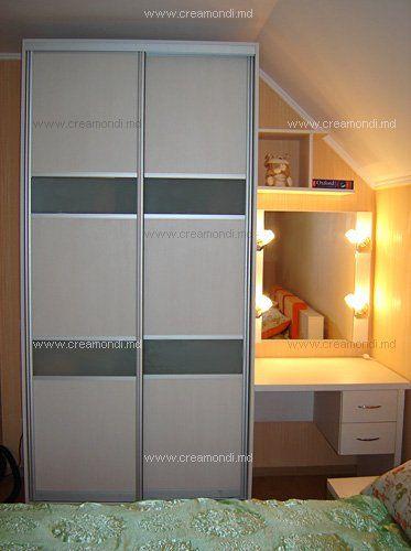 Мебель для спальниШкаф-купе и туалетный столик в спальню