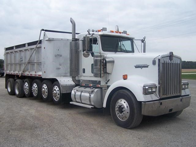 truck paper peterbilt 379 2007 peterbilt 379exhd at truckpapercom 18 2007 peterbilt 379exhd 18 spd tri axle engine brake 411/563 ratio 11r/245 tires aluminum outside wheels 272 in wheelbase 20,000 lb front axle weight 46,000 lb rear axle weight 63 in flat top sleeper drive side: left hand drive factory 4 axle, full.