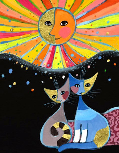 """""""Happiness is Shared"""" par Rosina Wachtmeister"""