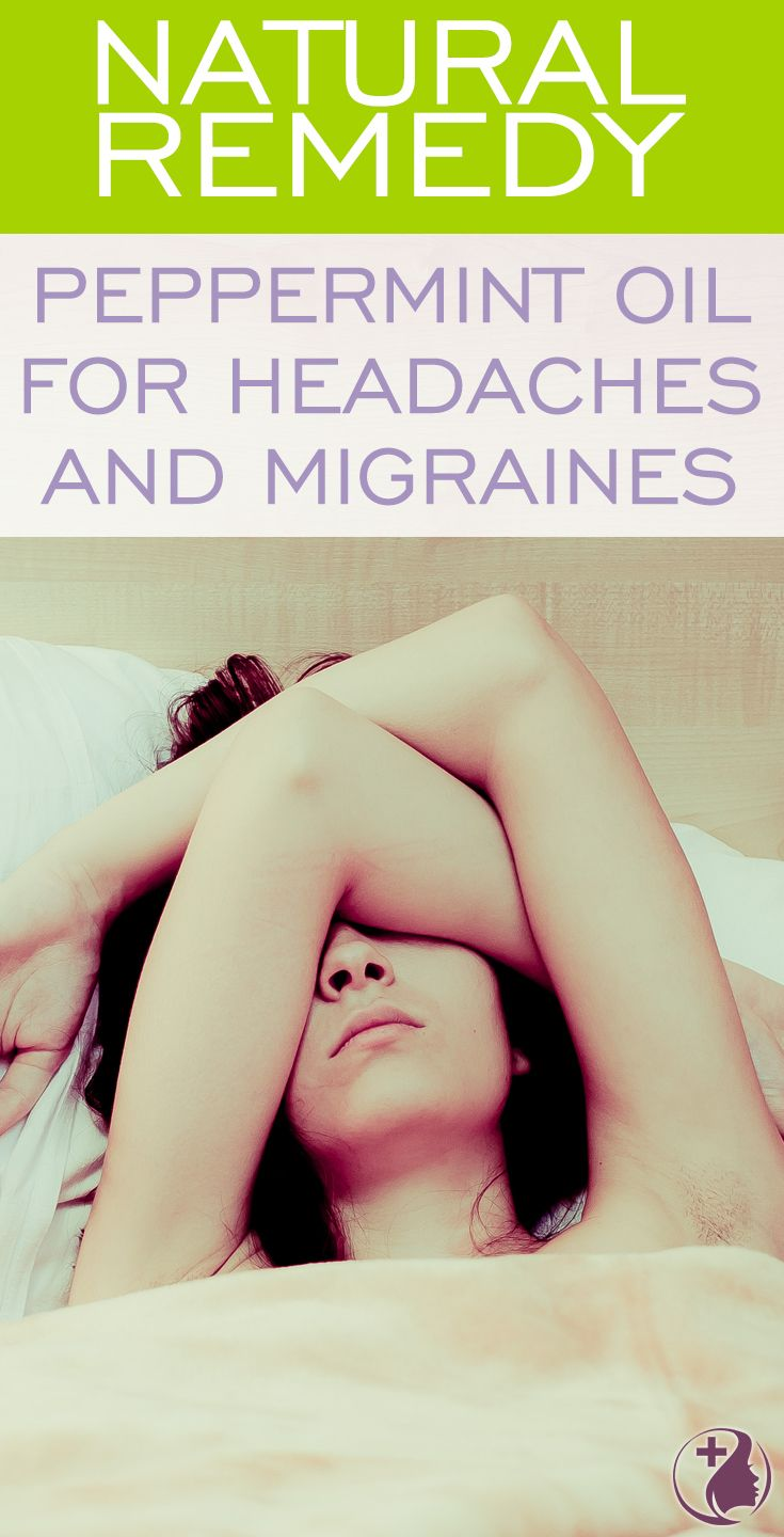 Learn about this natural remedy using peppermint essential oil for headaches. Melt away the symptoms of tension headaches using peppermint oil as a cost-effecti