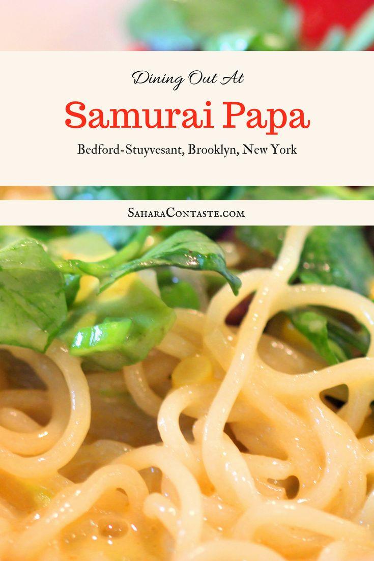 Samurai Papa - Bedford Stuyvesant: Restaurant Review   SaharaContaste.com