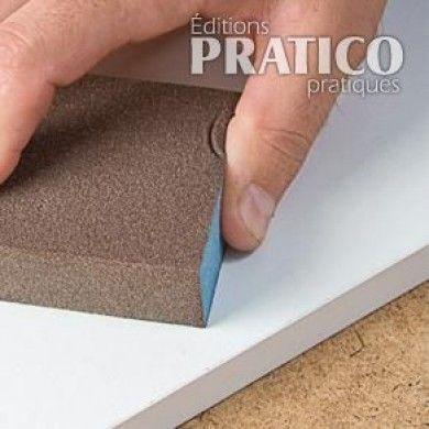 Comment préparer les surfaces avant de peindre la mélamine? - En étapes - Décoration et rénovation - Pratico Pratique