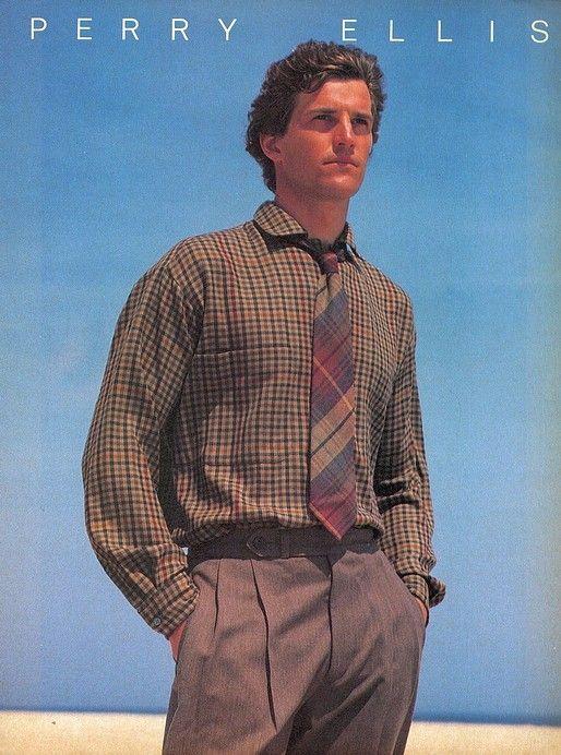 "Matt Norklun was 6'7"" Perry Ellis (1984)"