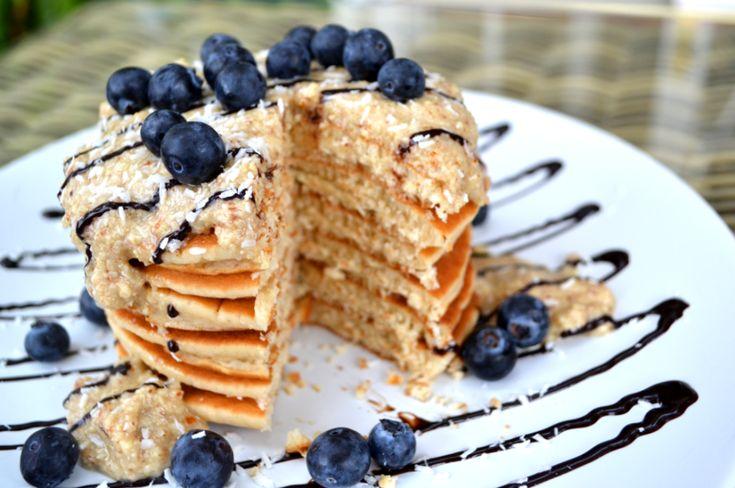 Vanilla Coconut Protein Pancakes - Zanna Van Dijk Recipe