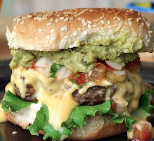 If you love Mexican food, try these recipes for Mexican-inspired burger, pizza, and even Casear salad with a south of the border twist from some of our favorite food blogs.