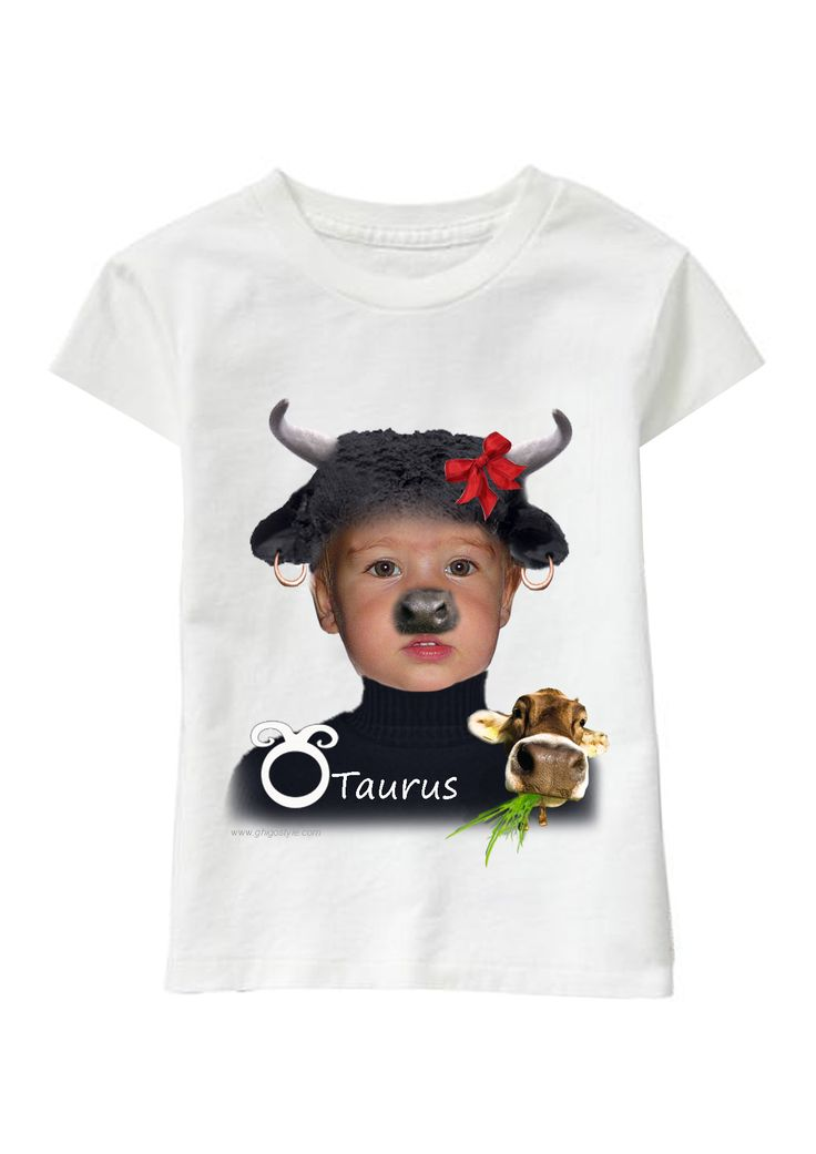 Taurus Girl personalized T-shirt www.ghigostyle.com
