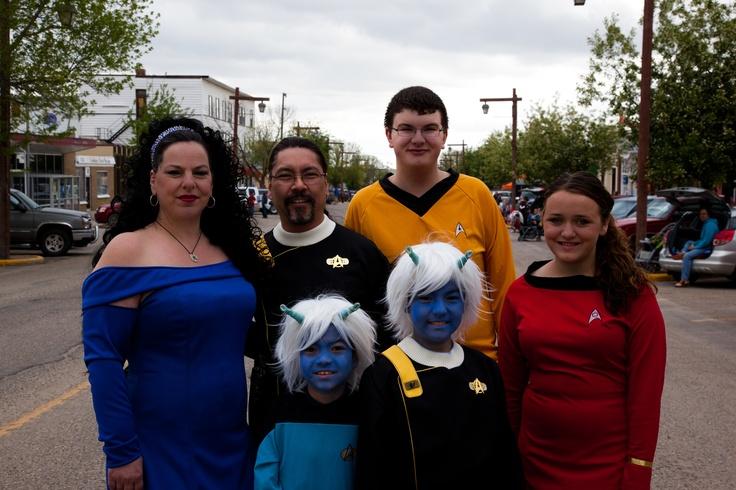 Spock Days Festival in Vulcan, Alberta  http://www.exploresouthwestalberta.ca/vulcan