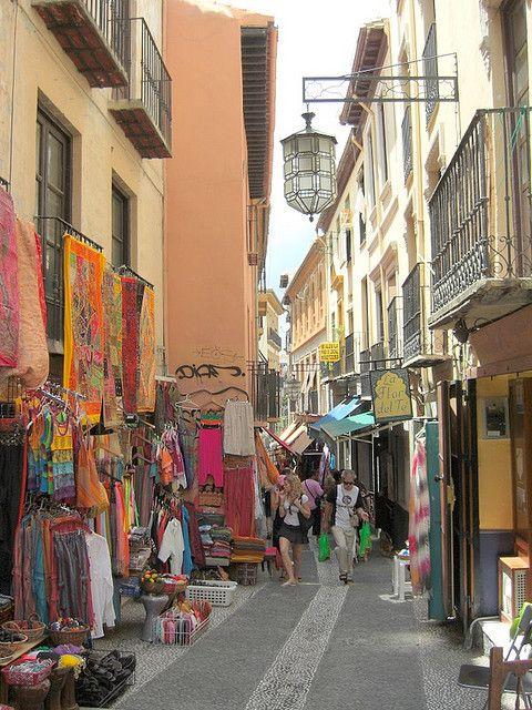 Granada, Spain- I went shopping here!