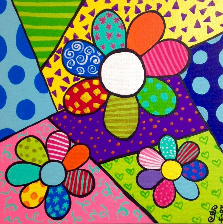 Romero Britto Art Idea