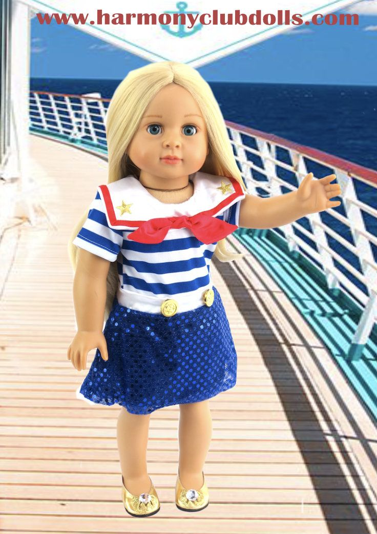 395 Best Images About Nautical Outfits For Dolls On Pinterest Sailors Nautical And Infant Toddler