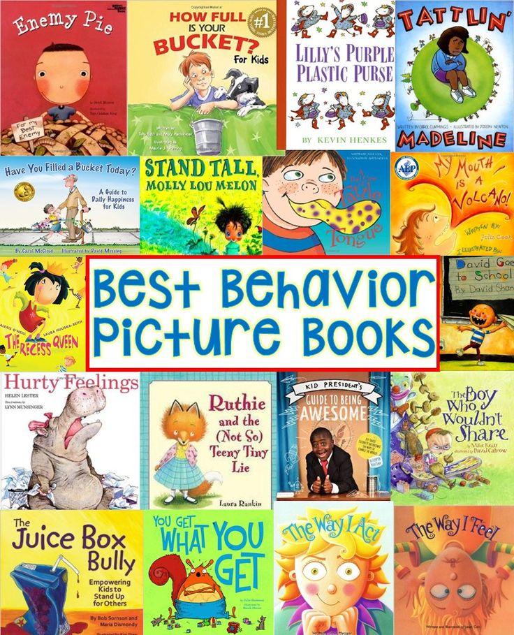 Kindergarten Activities: Behavior Picture Books (Kickin' it in Kindergarten...