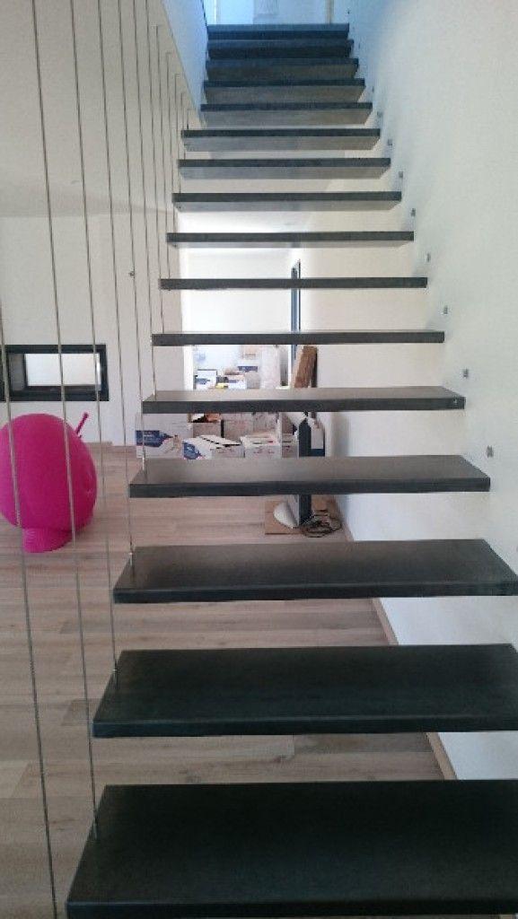 1000 id es propos de escalier suspendu sur pinterest escada escalier de - Escalier flottant prix ...