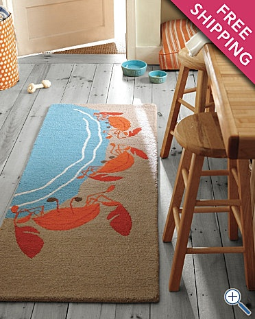 Rugs Crabs And Wool Rugs On Pinterest