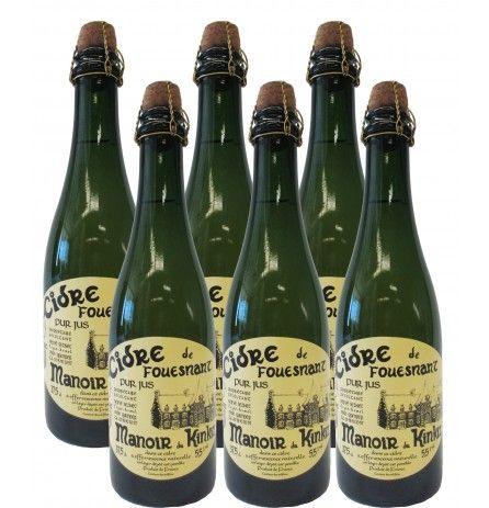 Case of 6 bottles of Cidre de Fouesnant 5.5% 375ml