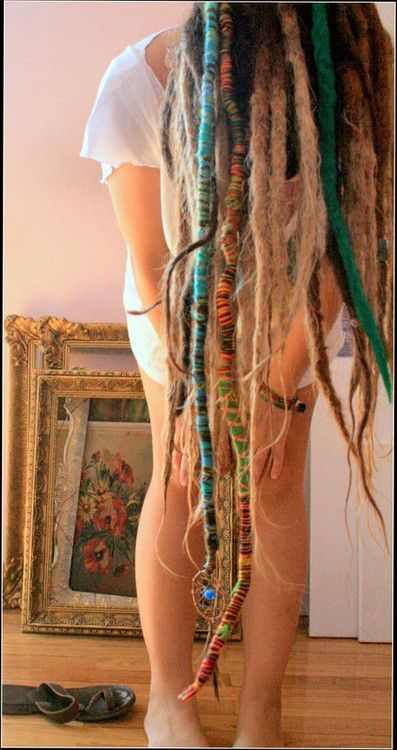 threaded dreadlocks