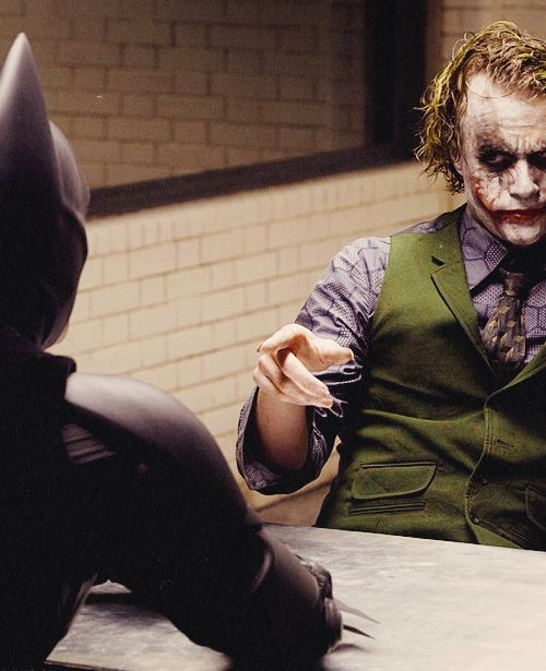 """You see, I'm a guy of simple taste. I enjoy dynamite, and gunpowder, and gasoline!"" --Joker in ""The Dark Knight"""