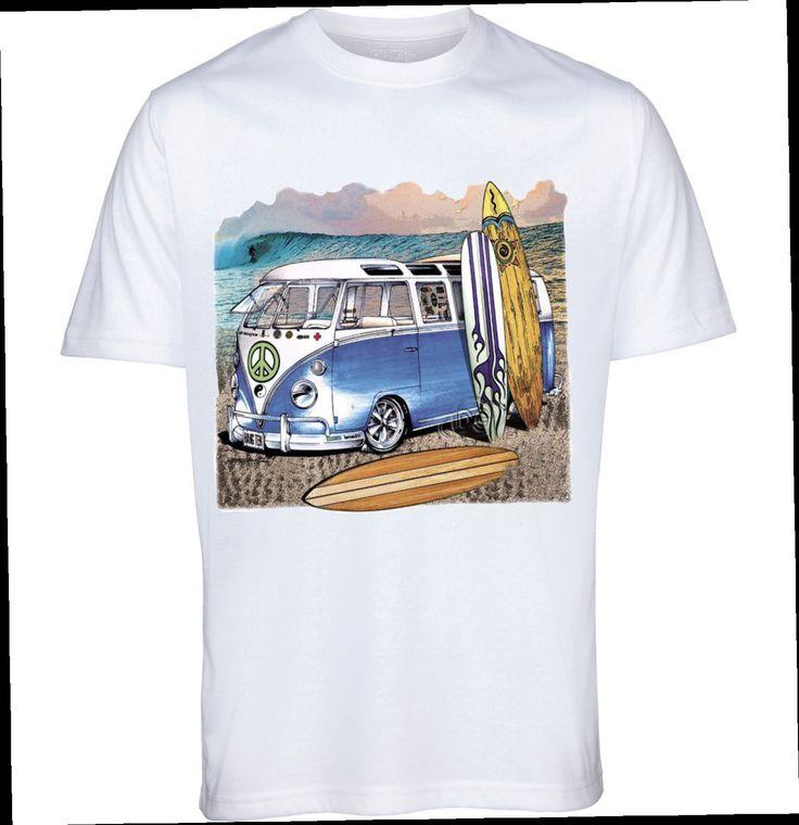 CAMPER VAN VW T shirt,men's T shirt,custom printed garments,ladies top,kids t shirts by Tees4u16 on Etsy