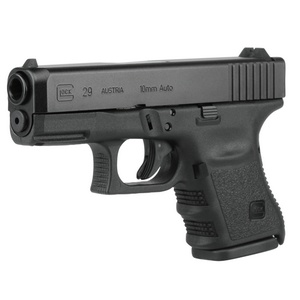 Glock 29 - 10mm Semi Automatic; 10 round capacity.