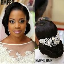 """Résultat de recherche d'images pour """"nigerian wedding hairstyles"""""""