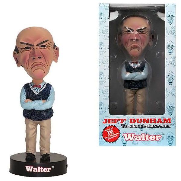 Jeff Dunham Walter Talking Bobble Head $14.99