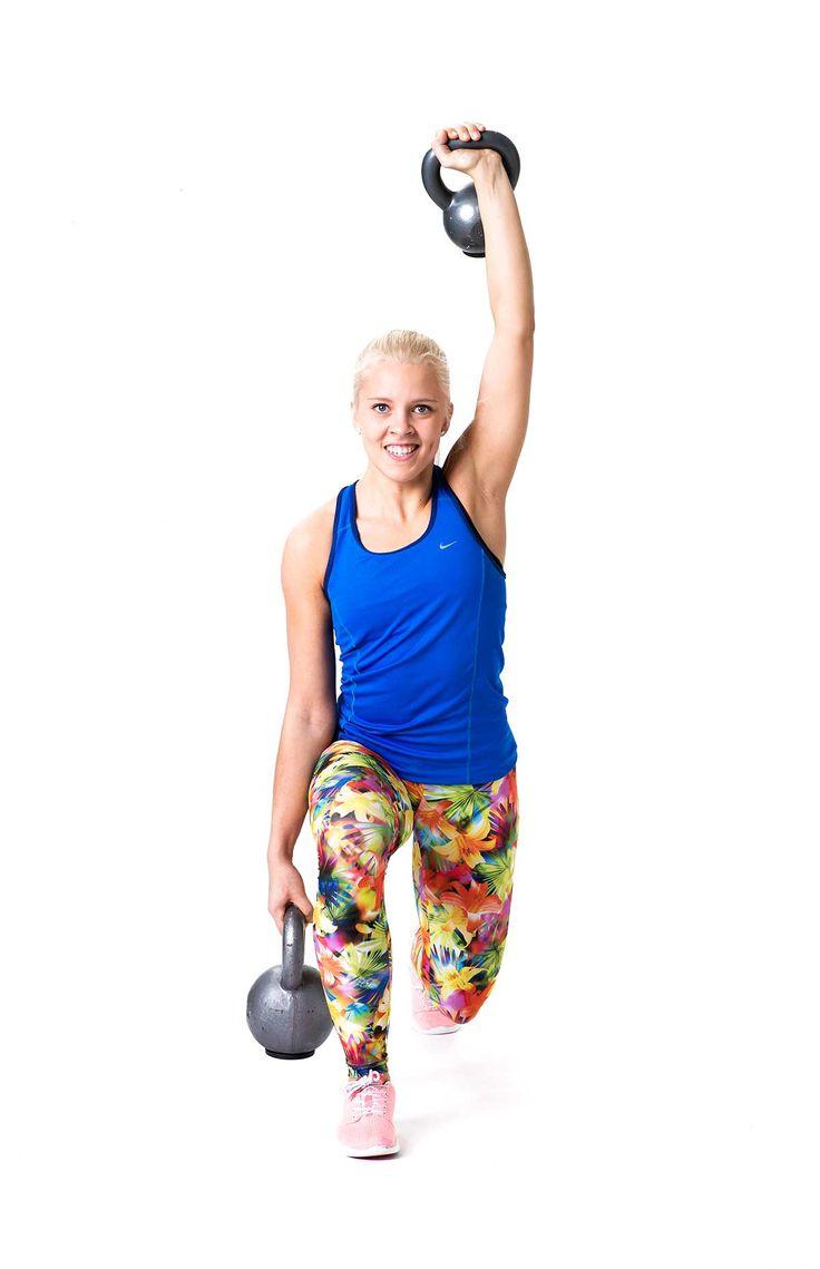 Vie painot lenkille – 6 tehokasta liikettä